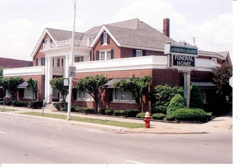 Andrews Amp Hardy Funeral Home Location